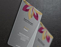 Andalusia Foundation Business Cards