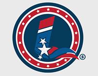 Lex Luthor 2016 Presidential logo
