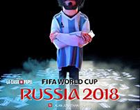 FIFA WORLD CUP - RUSSIA 2018 / LA CASA DE PAPEL