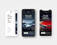 Audi - UI/UX concept