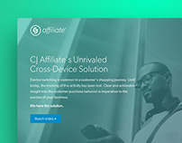 CJ Affiliate Cross-Device Landing Page