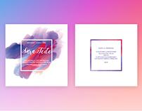 Sara&Fede • wedding invitation