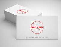 "Logo Design for Fire Wall Products ""WIRE WALL"""