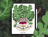 Turnip Organically Grown