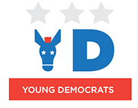 Morris County Young Democrats Logo Design