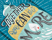 """""""Together We Can Do More"""" Campaign"""