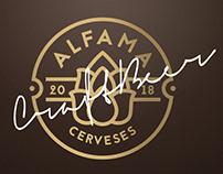 Diseño logotipo Cerveses Alfama