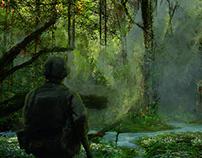 Sketch Forest_kepler 186f