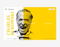 Bukowski webdesign concept / #365designdays