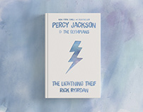 Percy Jackson Book Cover Redesign