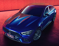Mercedes Benz GT63s - Personal Project