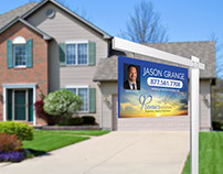 Logo Design: Jason Grange - Real estate analyst broker