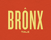 A Bronx Tale: Kinetic Typography