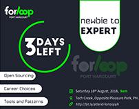 Banner Design fo forloop Port Harcourt