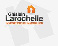 Ghislain Larochelle ~ Branding & logo & card design