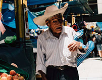 The faces of Cusco's food market.