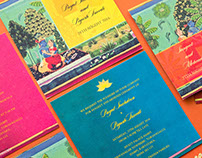 Royal Canvas - Wedding Invitation for Inksedge