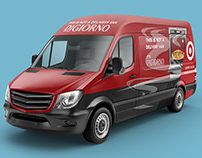 DiGiorno and Target Van Wrap Collaboration