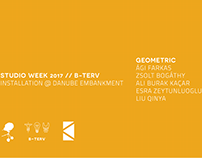 KÉK//B-Terv//Studio Week 2017//Geometric