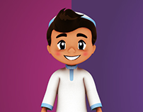 3D Cartoon Kid