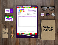 Identidad Gráfica Victoria Party for Kids