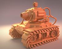Metal Slug's tank