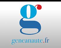 Geneanaute (Maquette app iOS)
