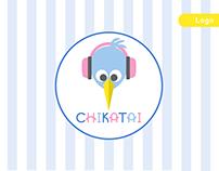 """""""Chikatai"""" """"ჩიკატაი"""" _ Logo Design & Branding"""
