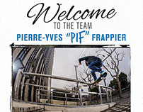 """Pub Exposé // Pierre-Yves """"Pif"""" Frappier"""