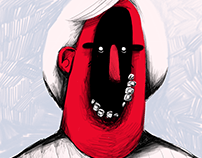 Illustration for Big Bri Love zine
