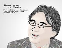 Memorial for Mr. Iwata