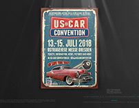 US CAR CONVENTION 2018 • The Poster