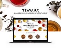 New Tea Teavana Brand Page