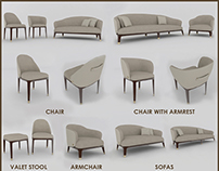 Upholstered Furniture Collection