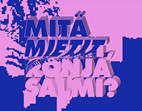 Mitä Mietit Ronja Salmi?