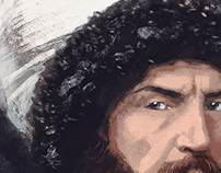 İmâm Shâmil Digital Painting