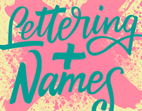 Lettering+names vol.01