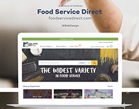 Food Service Direct Website Design