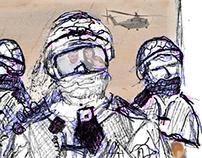 A Soldiers Burden – Video Art Installation