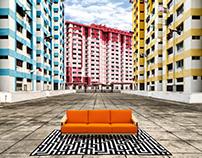 Urban Furniture Shoot in Singapore