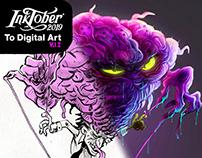 Inktober 2019 To Digital Art Vol.I