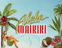"""Mała Sztuka - Cocktail Menu """"Aloha Waikiki"""""""