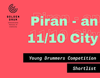 Golden Drum 25: Young Drummers - Shortlisted Posters
