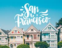 San Francisco Lettering Design