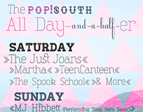 Pop!South All Day-and-a-half-er Poster (2014)