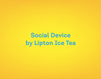 Lipton Ice Tea - Social Device