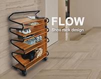 Flow- shoe rack