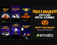 Halloween Invitation Insta Stories