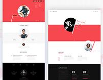 ELLIPSE- Creative Multipurpose PSD Template