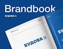 """Brandbook """"Budova"""""""